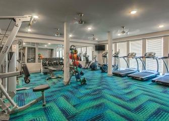 Villas Central Park large fitness center