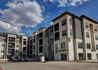 Martha's Vineyard four story apartments exterior