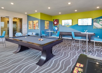 404 Border game room with a pool table