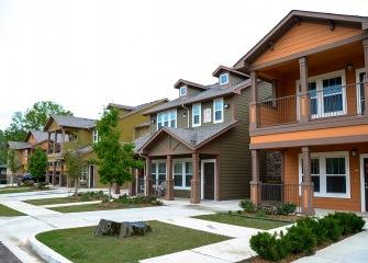 Pecan Ridge two story apartment homes