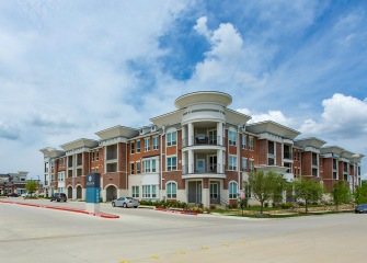 The Julian at South Pointe three story apartments with balconies