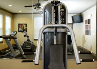 Pecan Ridge fitness center