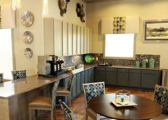 Sonterra Blue resident kitchen