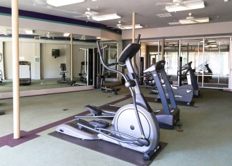 Refugio Place fitness center