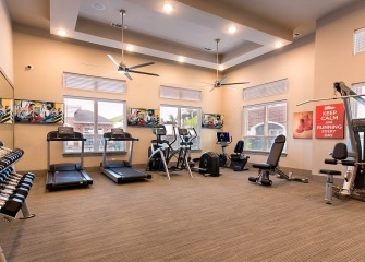 The Julian at South Pointe fitness center