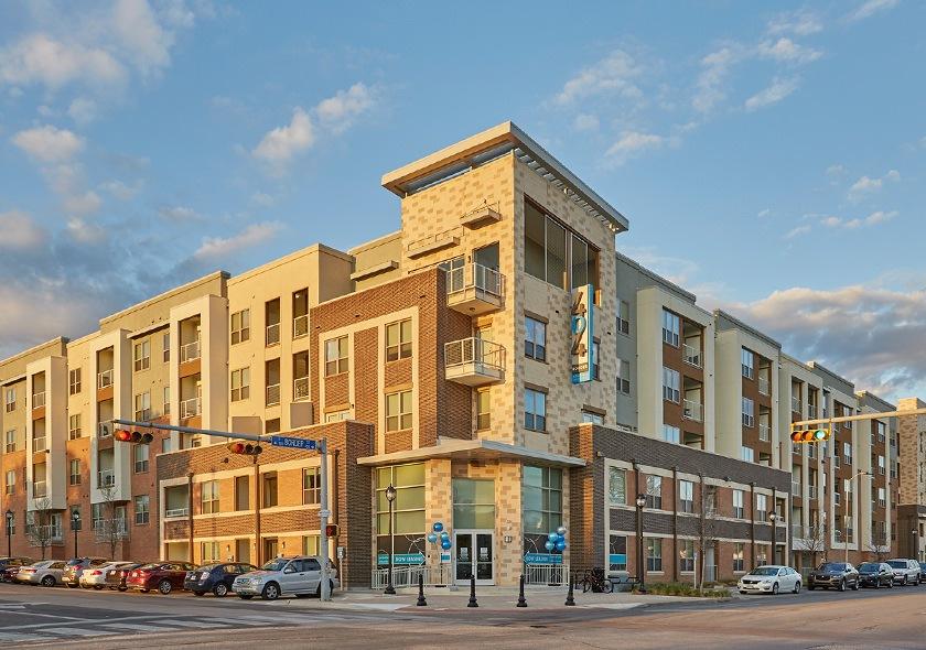 404 Border five story apartments